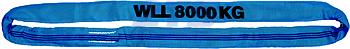 Jeřábová smyčka  RS 8t,2,5m, užitná délka - 1