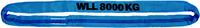 Jeřábová smyčka  RS 8t,2,5m, užitná délka - 1/2