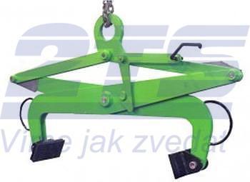 Svěrací kleště na bloky SKB 250 kg, svěrná šíře 250 - 500 mm - 1