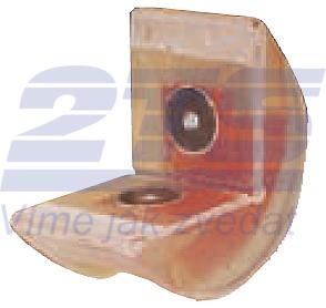 Rohová pevná ochrana SWH pro textilní úvazky 75mm, oboustranné magnety - 1