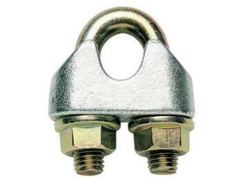 Lanová svorka DIN 1142, průměr 10 mm, Zn