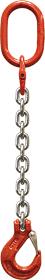 Oko-hák řetězový průměr 6 mm, délka 4,5 m, třída 8 GAPA