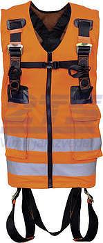 Bezpečnostní celotělový postroj s dvěma připojovacími body (bezp. vesta)