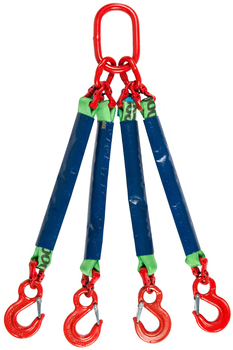 4-hák textilní RS, nosnost RS 2t, délka 5,5m - 1