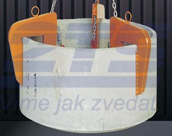 Nosič skruží prodloužený 3t, 60-160 mm