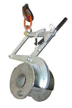 Svěrací kleště na kruhové profily SKR 500kg, 350mm - 1