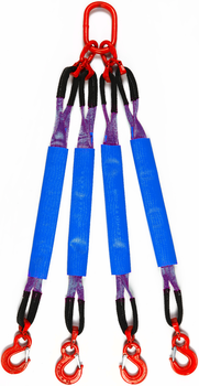 4-hák textilní HB, nosnost HB 1t, délka 2,5m GAPA