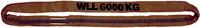 Jeřábová smyčka  RS 6t,1m, užitná délka - 1/2