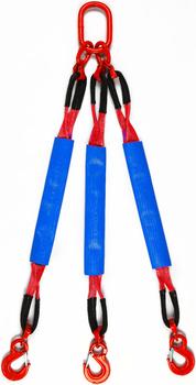3-hák textilní HB, nosnost HB 5t, délka 3m, GAPA