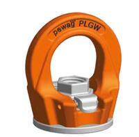 Šroubovací otočný  bod PLGW-SN- M12x20, nosnost 0,7 t, s čipem NFC, Tř.10 - 1/4
