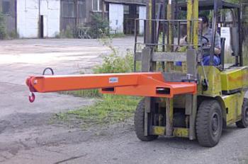 Závěsné rameno na vidlice VZV jednoduché ZR1V 2500kg - 1