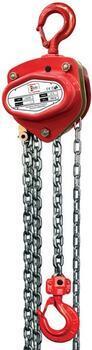 Řetězový kladkostroj LHZ, nosnost 5000 kg, délka zdvihu 5m - 1
