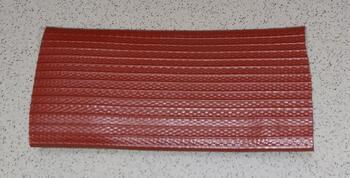 PVC ochrana šíře 102 mm - RED - 1