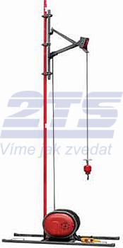 Stavební vrátek Camac MINOR MILLENNIUM BASE 500 - podlažní, délka lana 60 m