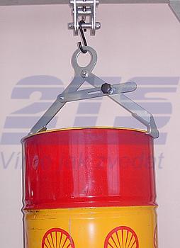 Nosič sudů vertikální s pojistkou NSVG, nosnost 300kg, pr.600mm - 1