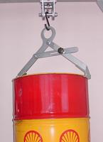 Nosič sudů vertikální s pojistkou NSVG, nosnost 300kg, pr.600mm - 1/2