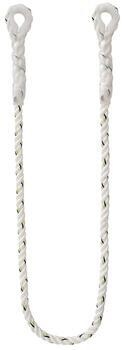 Polohovací lano, polyamid, průměr 11 mm, se smyčkami na obou koncích - délka 1,5 m