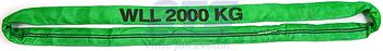 Jeřábová smyčka  RS 2t,2m GAPA, užitná délka