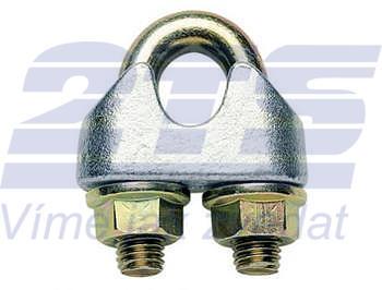 Lanová svorka DIN 1142, průměr 5 mm, Zn