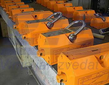 Permanentní břemenový magnet CPPML1000 GAPA, nosnost 1000 kg - 2