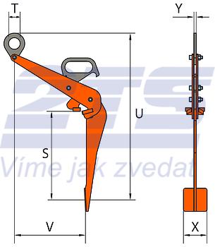 Nosič sudů VKHW 0,6 t - 2