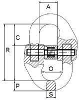 Spojovací člen VG průměr 13 mm, třída 8 - 2/2