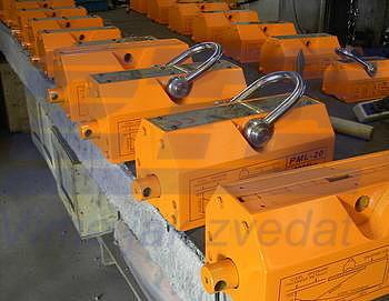 Permanentní břemenový magnet CPPML3000 GAPA, nosnost 3000 kg - 2