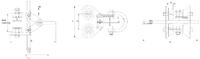 Závěsný ruční vozík B2 6t, 100-305mm - 2/2