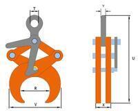 Svěrací kleště TLW 2 t, 219,1-368 mm - 2/4