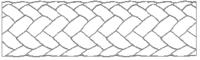 Polypropylenové lano TANDEM 10mm / barevné / bez jádra - 2/2