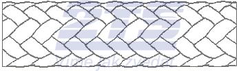 Polypropylenové lano TANDEM 10mm / barevné / bez jádra - 2