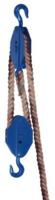 Obecný kladkostroj K11, nosnost 2t,pro textilní lano ( bez lana) - 2/3