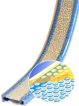 PU ochrana jednostranná Clip-SC s kovovou výztuhou a broušeným povrchem šíře 150mm - 2