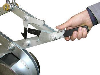 Svěrací kleště na kruhové profily SKR 1000kg, 500mm - 2