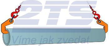 Horizontální svěrka CPH 6 t, 50 mm, pár - 2