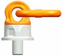 Šroubovací otočný a sklopný bod PLDW M48x68, nosnost 12,5 t,s čipem NFC - 2/7