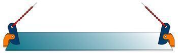 Horizontální svěrka CNMH 1 t, 0-25 mm (pár) - 2