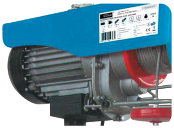 Elektrický lanový kladkostroj GSZ 125/250 kg - 2