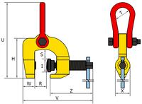 Šroubovací svěrka SCCW 3 t, 0-60 mm - 2/7