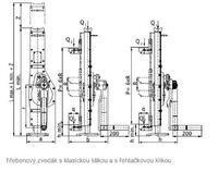 Hřebenový zvedák s přestavitelnou opěrou 15-00, nosnost 5 t, standard klika - 2/5