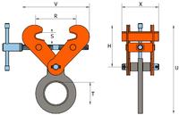 Šroubovací svěrka SVW 5 t, 150-300 mm - 2/4