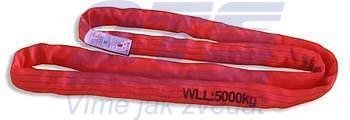 Jeřábová smyčka  RS 5t,3m, užitná délka - 2