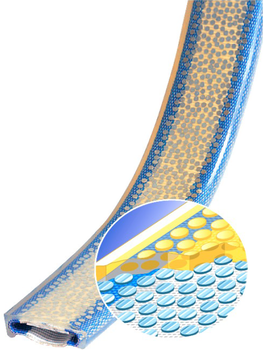 PU ochrana jednostranná pro 4vrstvý pás s kov. výztuhou a broušeným povrchem Clip-SC 30mm - 2
