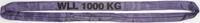 Jeřábová smyčka  RS 1t,3m, užitná délka - 2/2