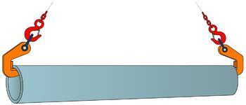 Horizontální svěrka CPH 10 t, 70 mm, pár - 2