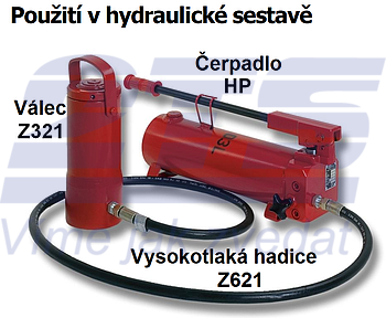 Hydraulické čerpadlo Brano HP 7l - 2