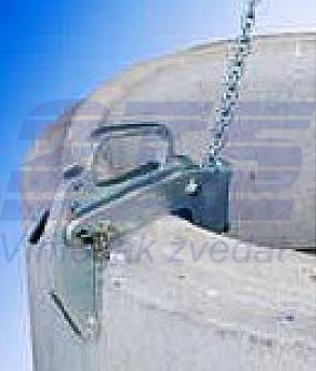 Nosič skruží NS s lanem 2t, 80-120 mm - 2