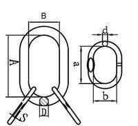 Závěsné oko lanové 16B, nosnost 3,8 t GAPA96 - 2/2