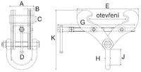 Svěrka Superclamp S14 15t, 406-610mm - 2/2
