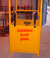 Závěsná revizní klec ZKR1 301/0,9m nosnost 300kg - 2/3